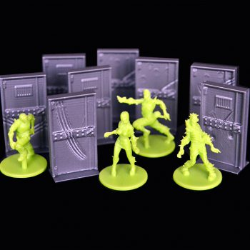 8 portes 3D compatible zombicides