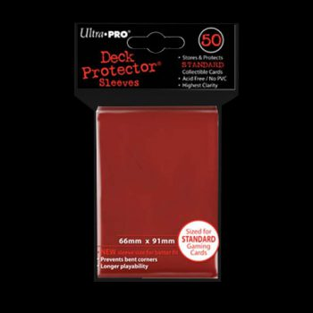 ultra-pro-standard-deck-protector-50-sleeves-red