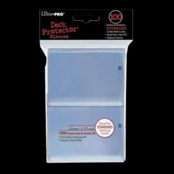Deck Protector ultra-pro-standard-sleeves-clear-100
