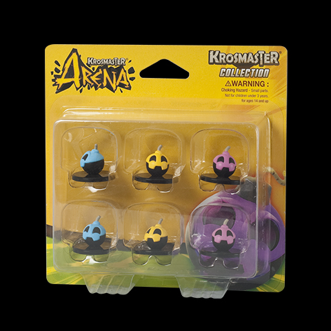 Krosmaster Arena - Pack de bombes Saison 1