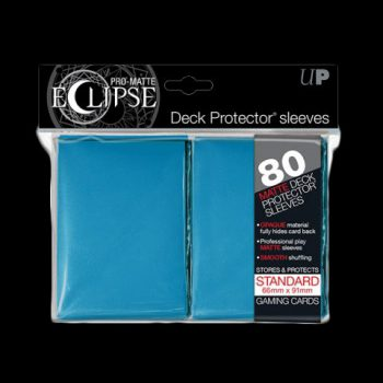 Pochettes-ULTRA-PRO-80-Sleeves-Standards-Pro-Matte-Eclipse-BLEU-CIEL