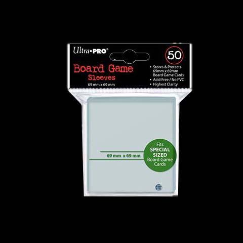 50 Pochettes – ULTRA-PRO – BOARD GAME – 69×69 – SQUARE