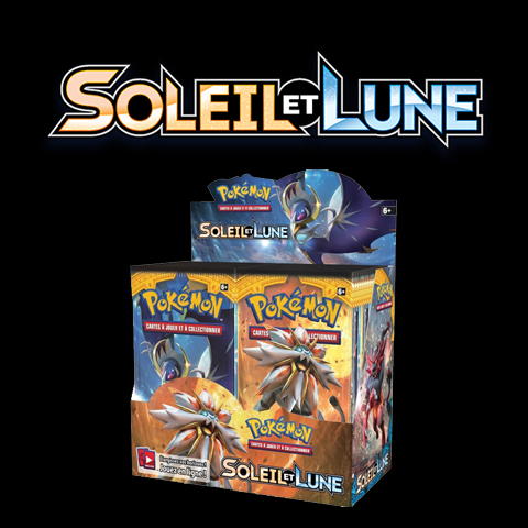 POKEMON - 36 BOOSTERS - SOLEIL ET LUNE - VF