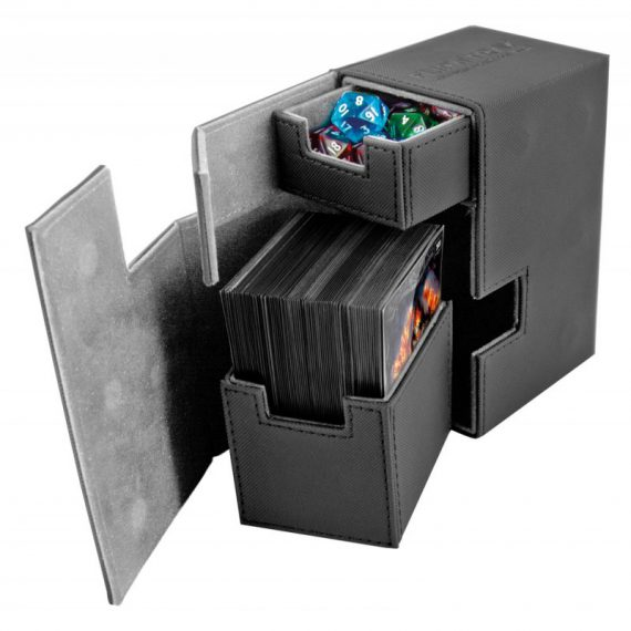 flip-n-tray-80-xenoskin-noir ouvert
